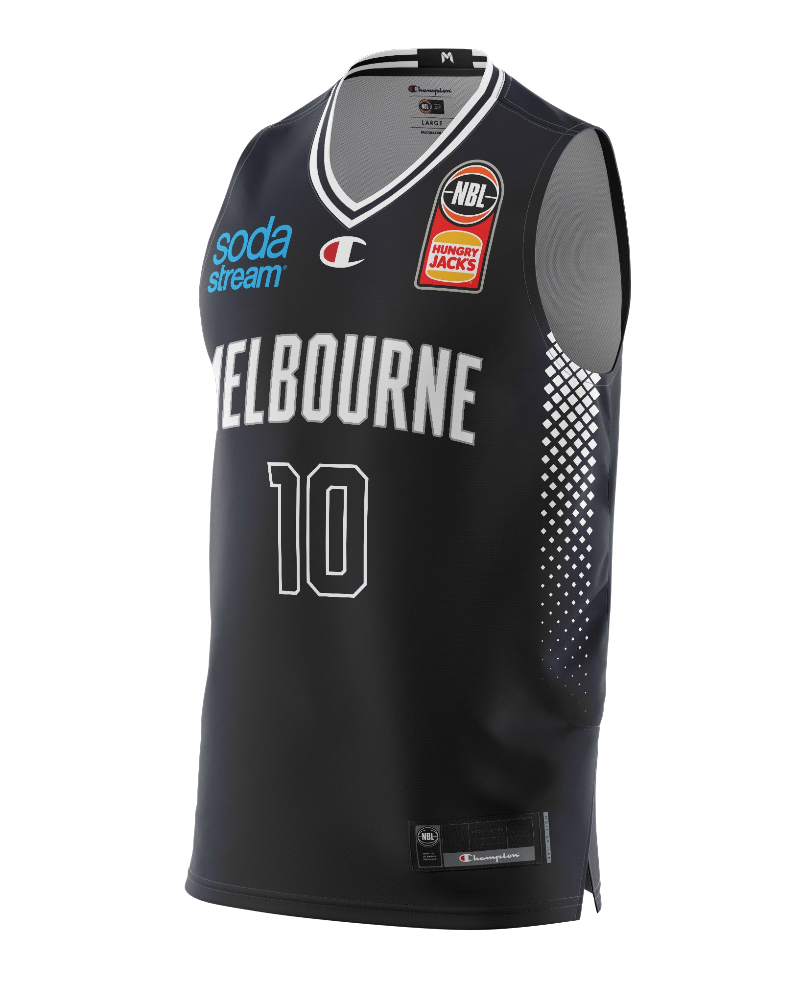 Melbourne United 20/21 Authentic Home Jersey - Mitch McCarron
