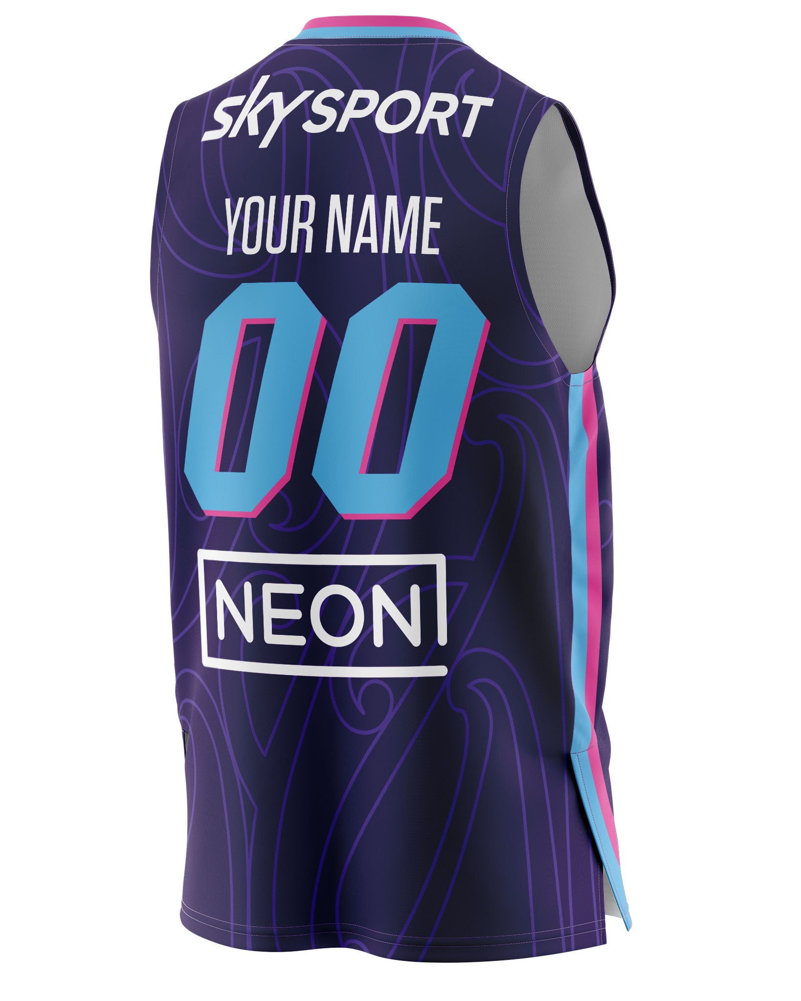 New Zealand Breakers 20/21 Authentic Home Jersey - Personalised