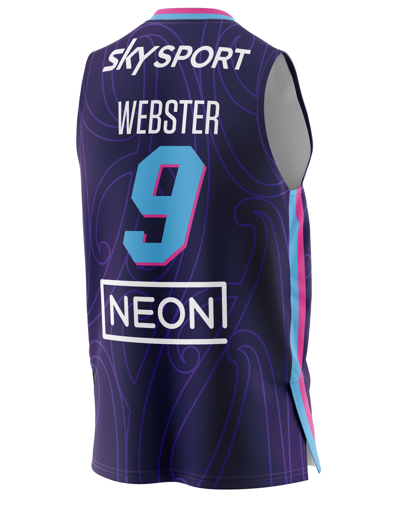 New Zealand Breakers 20/21 Authentic Home Jersey - Corey Webster