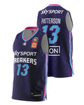 New Zealand Breakers 20/21 Authentic Home Jersey - Lamar Patterson
