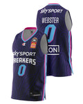 New Zealand Breakers 20/21 Authentic Home Jersey - Tai Webster