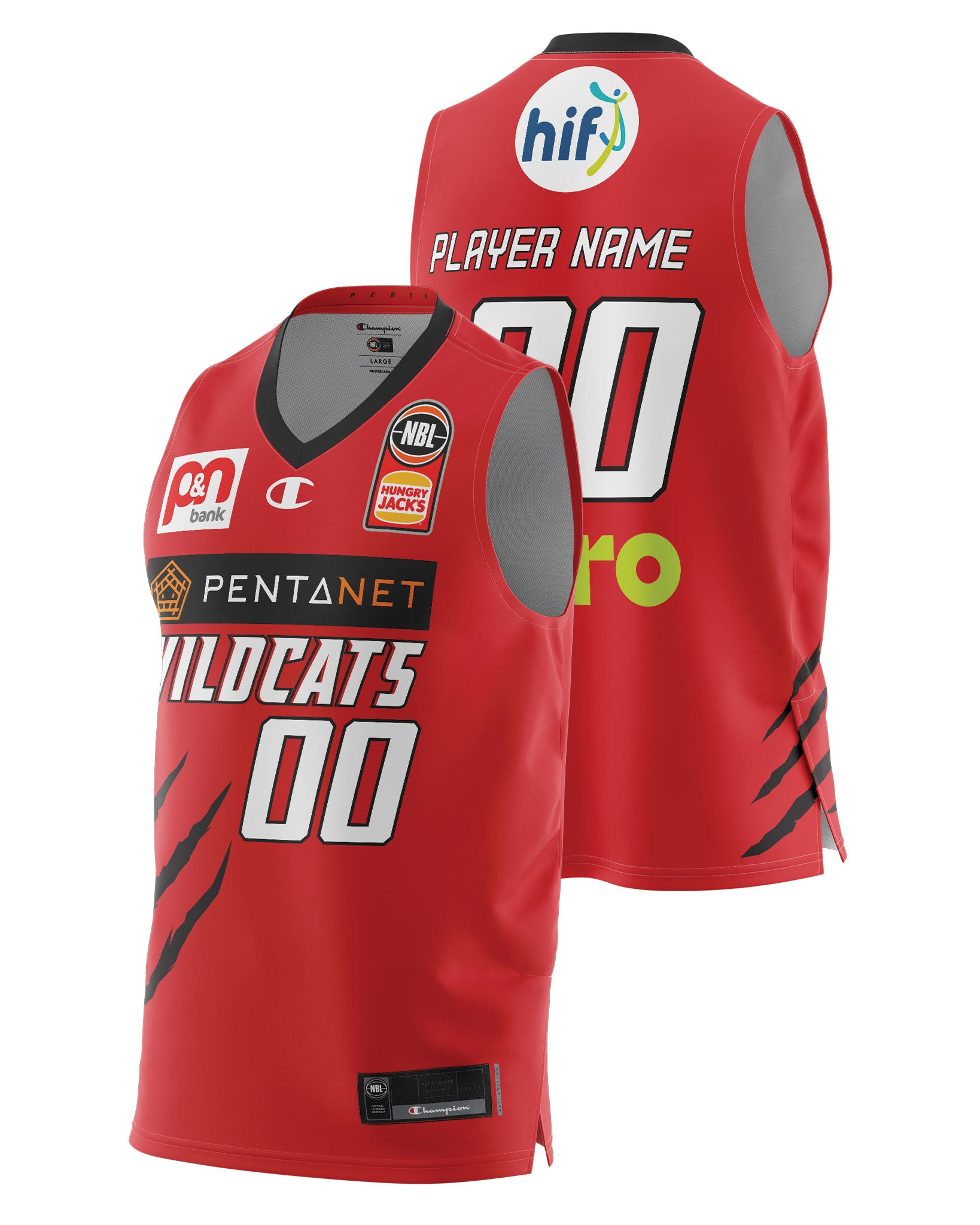 Perth Wildcats 20/21 Authentic Home Jersey - Other Players