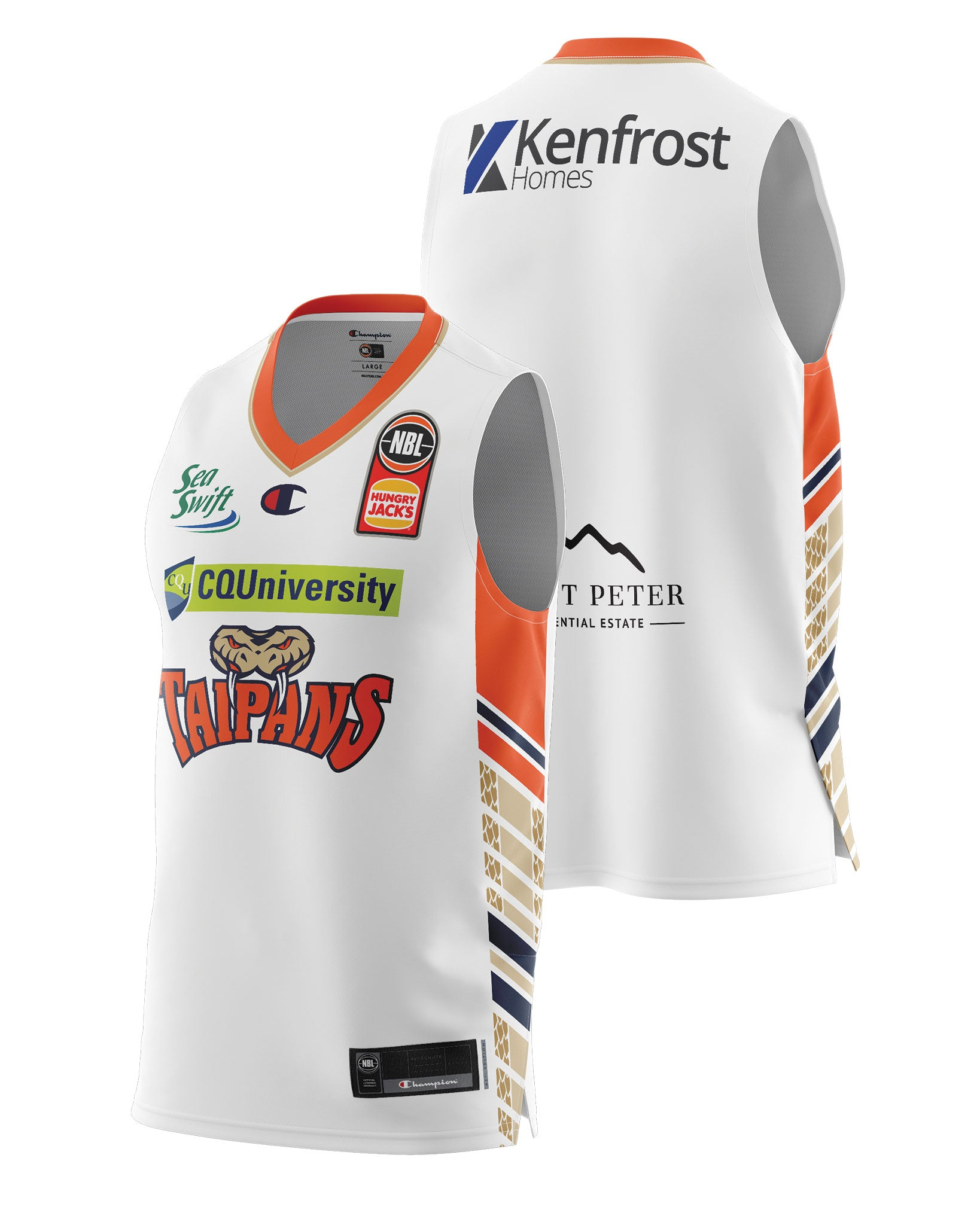 Cairns Taipans 20/21 Authentic Away Jersey