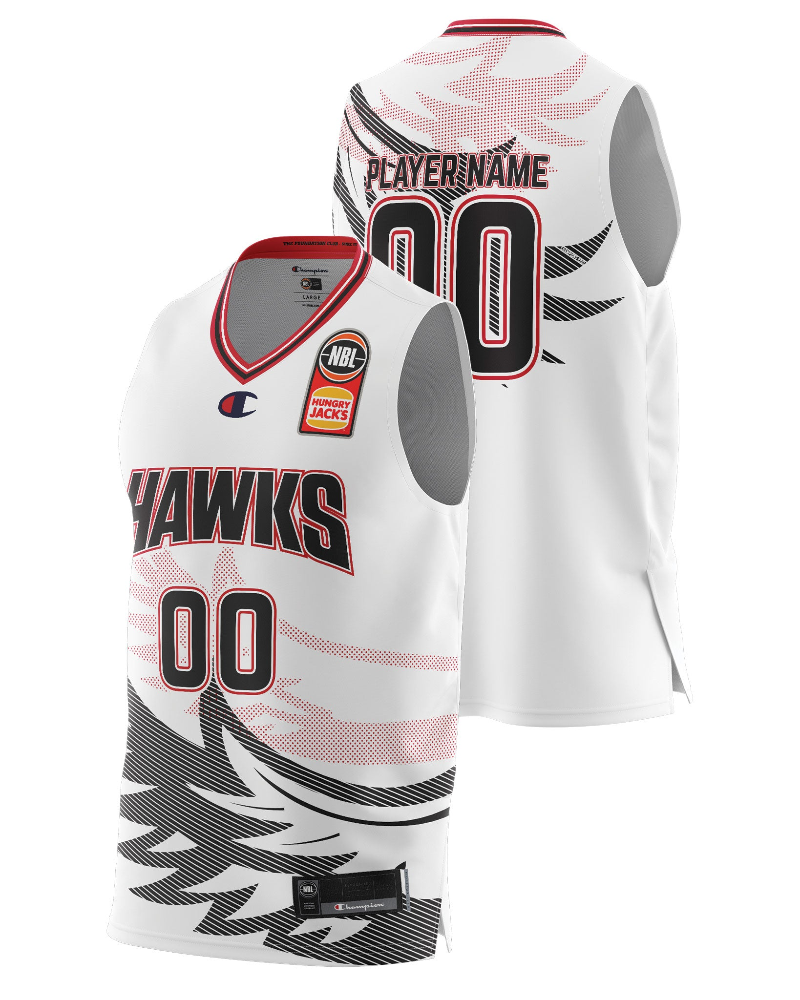 Hawks 20/21 Authentic Away Jersey - Other Players