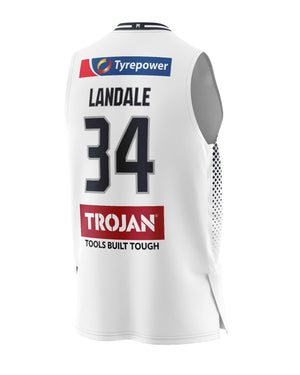 Melbourne United 20/21 Authentic Away Jersey - Jock Landale