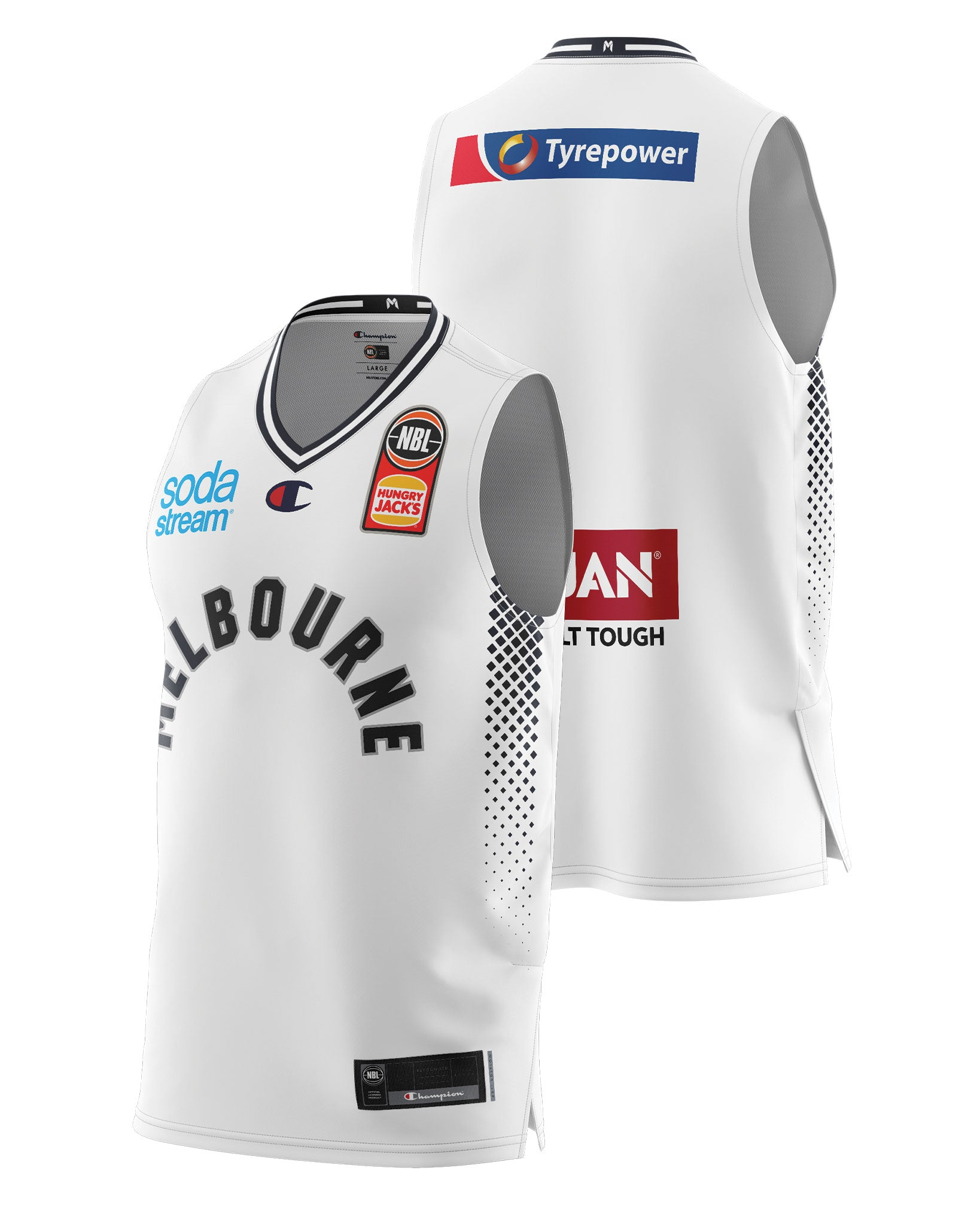 Melbourne United 20/21 Authentic Away Jersey