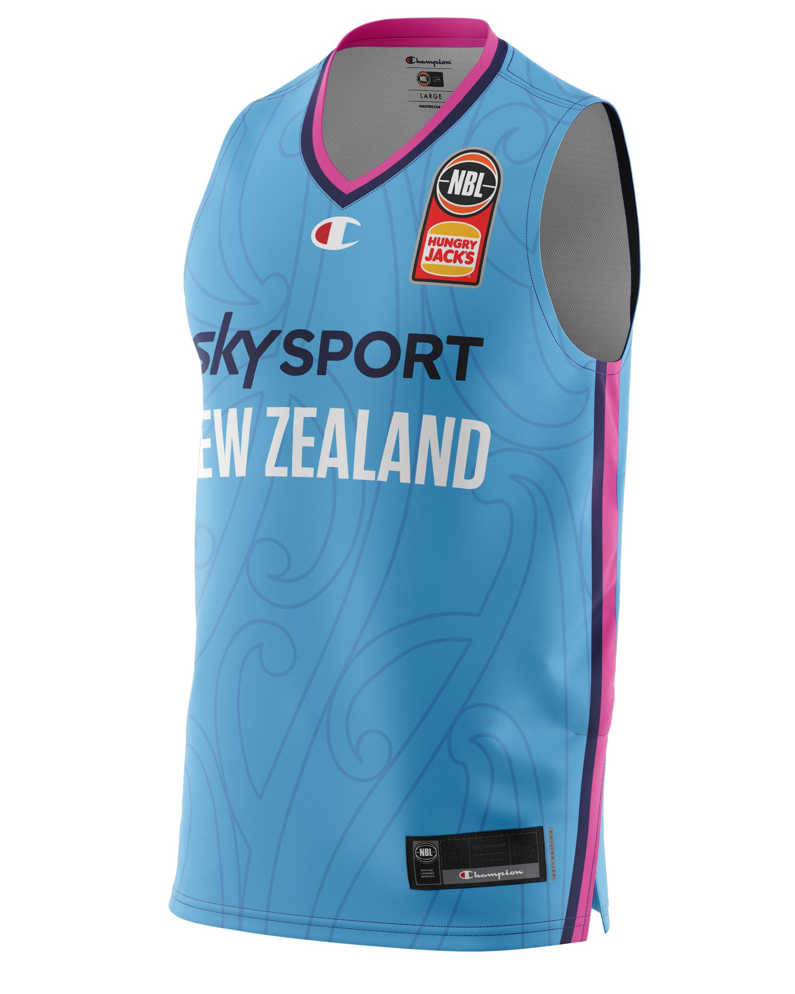 New Zealand Breakers 20/21 Authentic Away Jersey