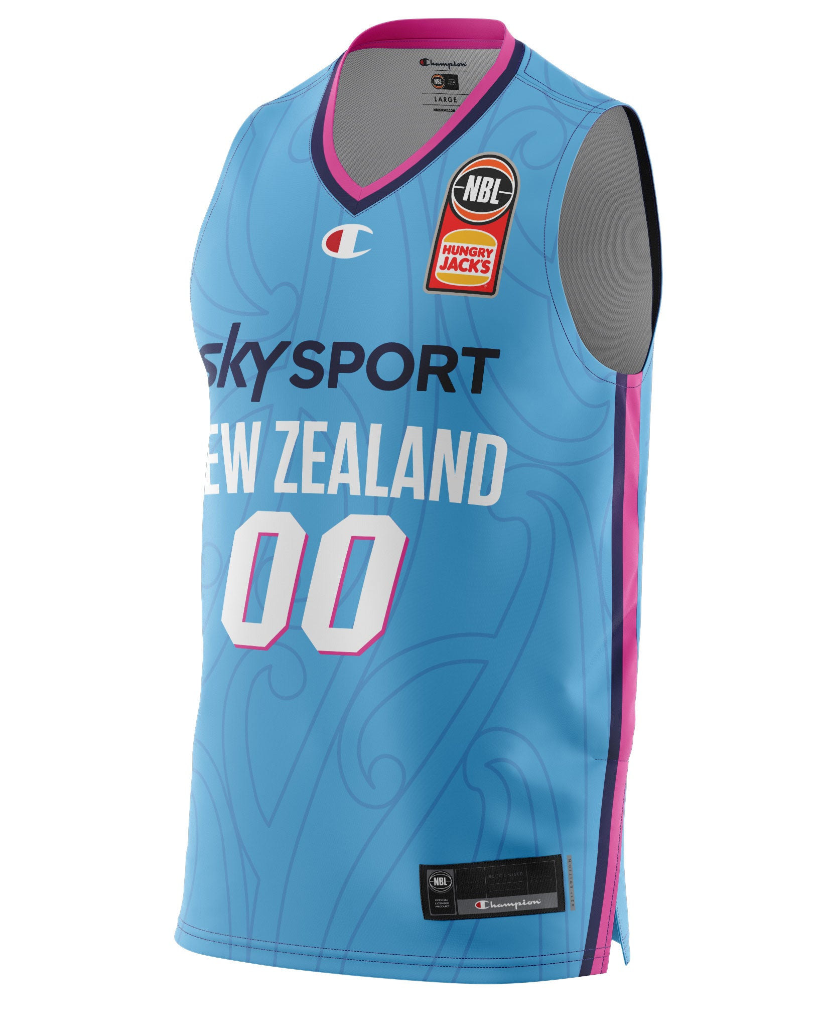New Zealand Breakers 20/21 Authentic Away Jersey - Personalised