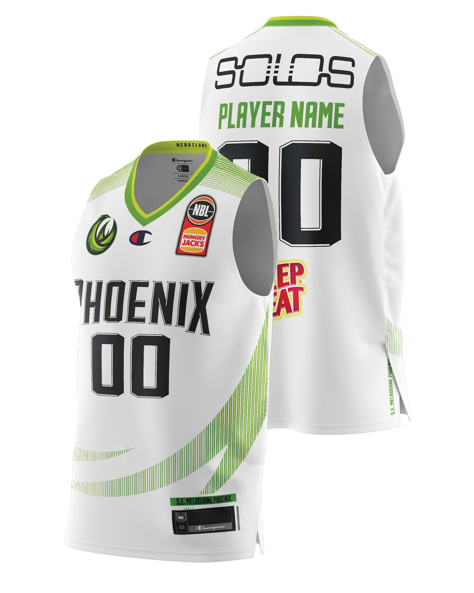S.E. Melbourne Phoenix 20/21 Authentic Away Jersey - Other Players