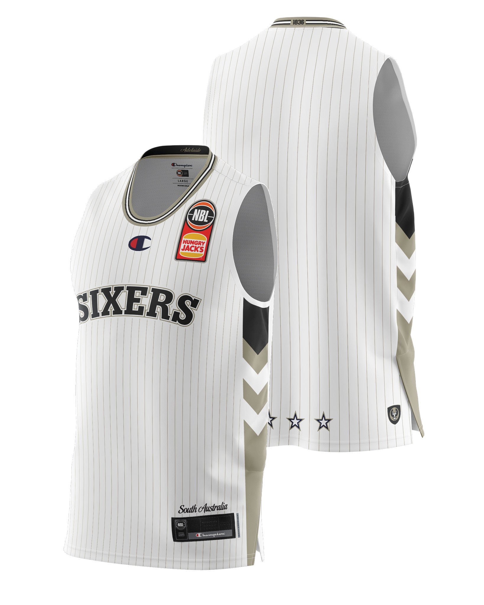 Adelaide 36ers 20/21 Authentic Away Jersey