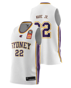 Sydney Kings 20/21 Authentic Away Jersey - Casper Ware Jr.