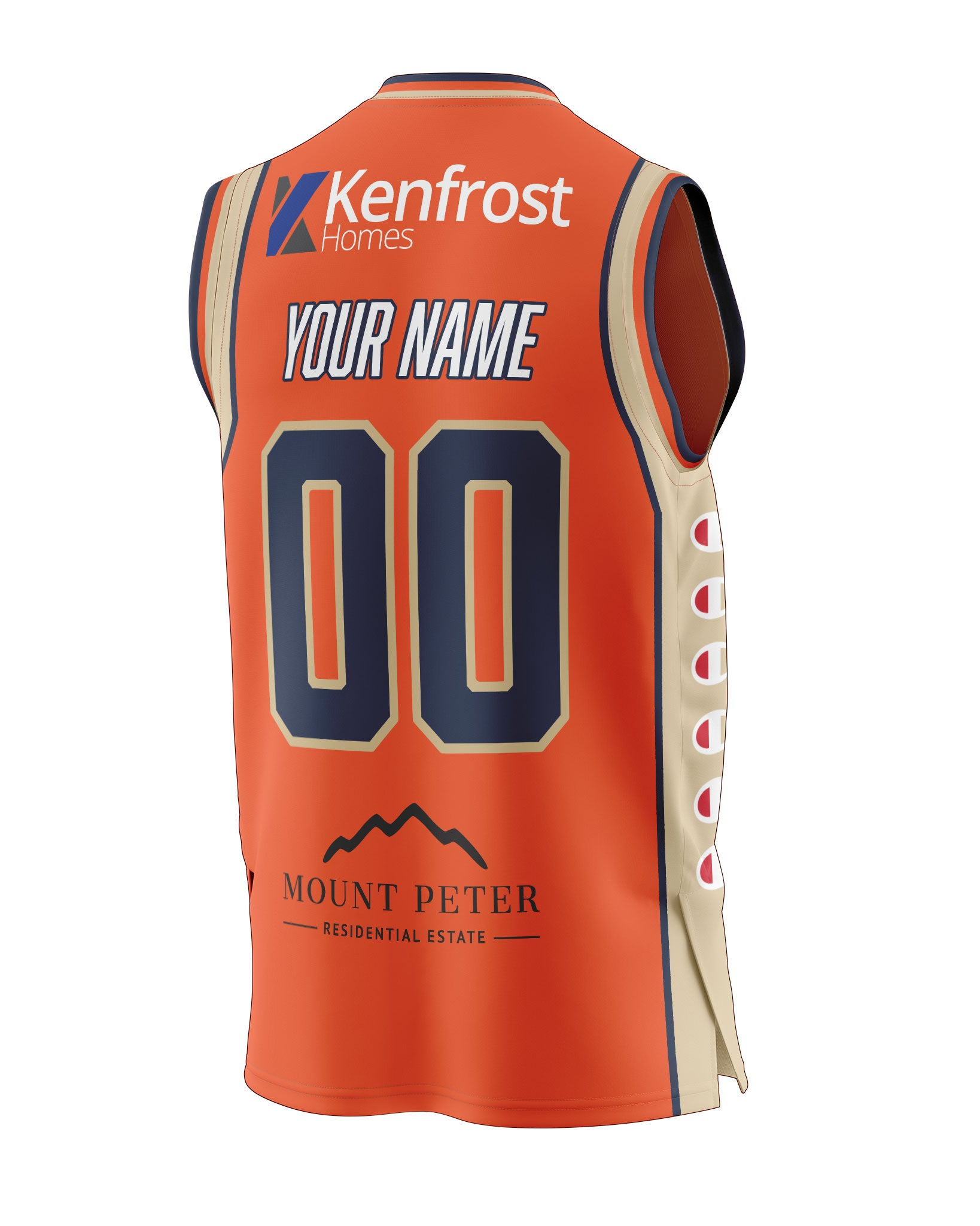 Cairns Taipans 20/21 Authentic Heritage Jersey - Personalised