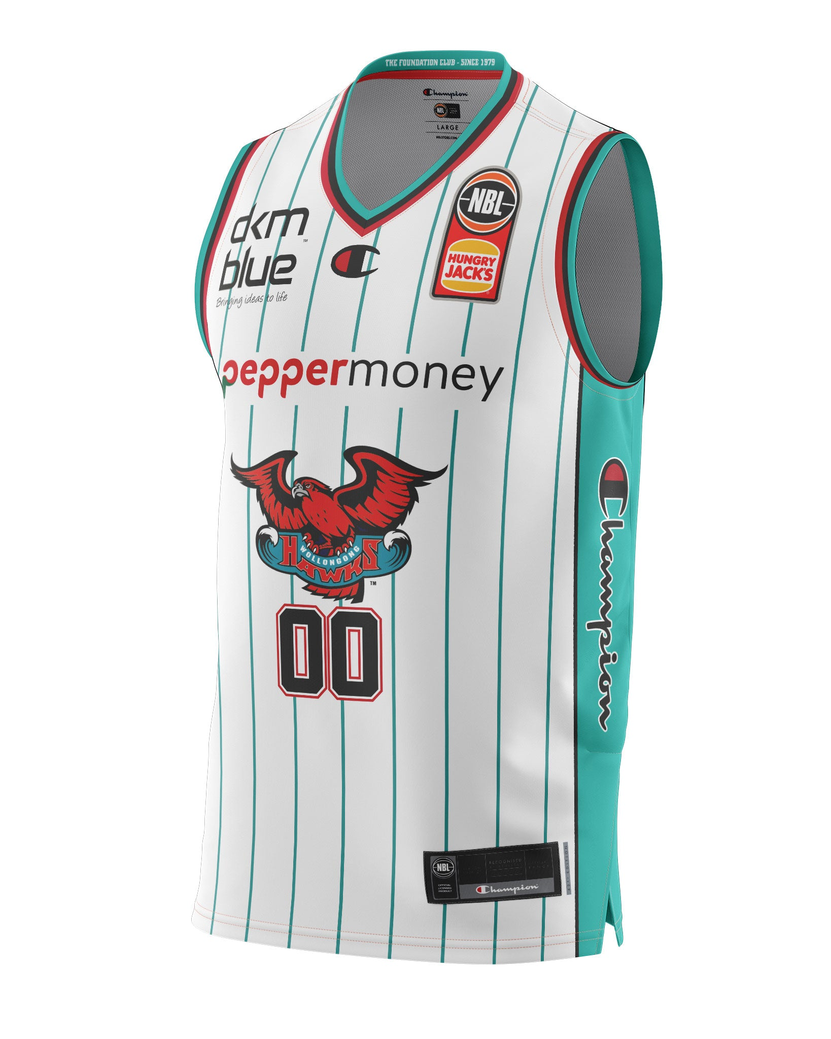Illawarra Hawks 20/21 Authentic Heritage Jersey - Personalised