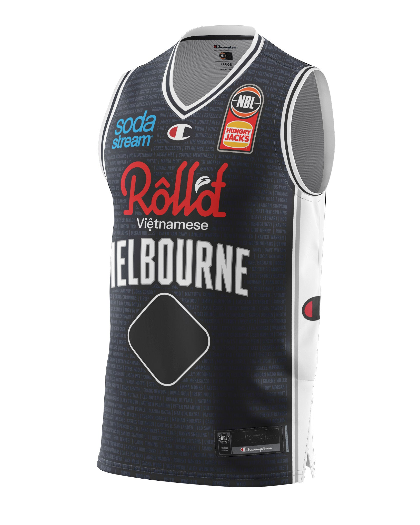 Melbourne United 20/21 Authentic Heritage Jersey