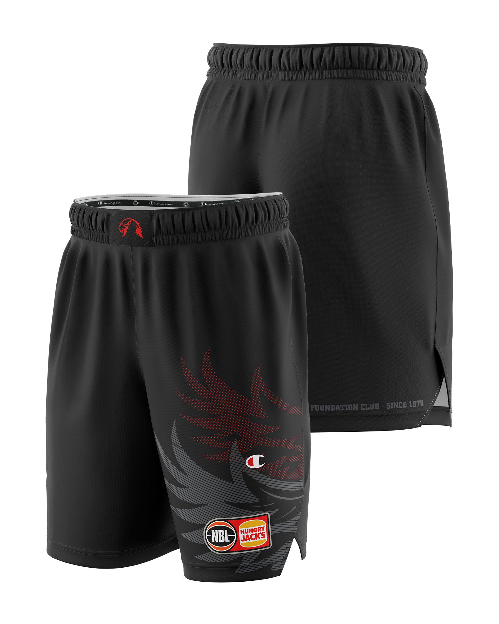 Illawarra Hawks 20/21 Authentic Home Shorts