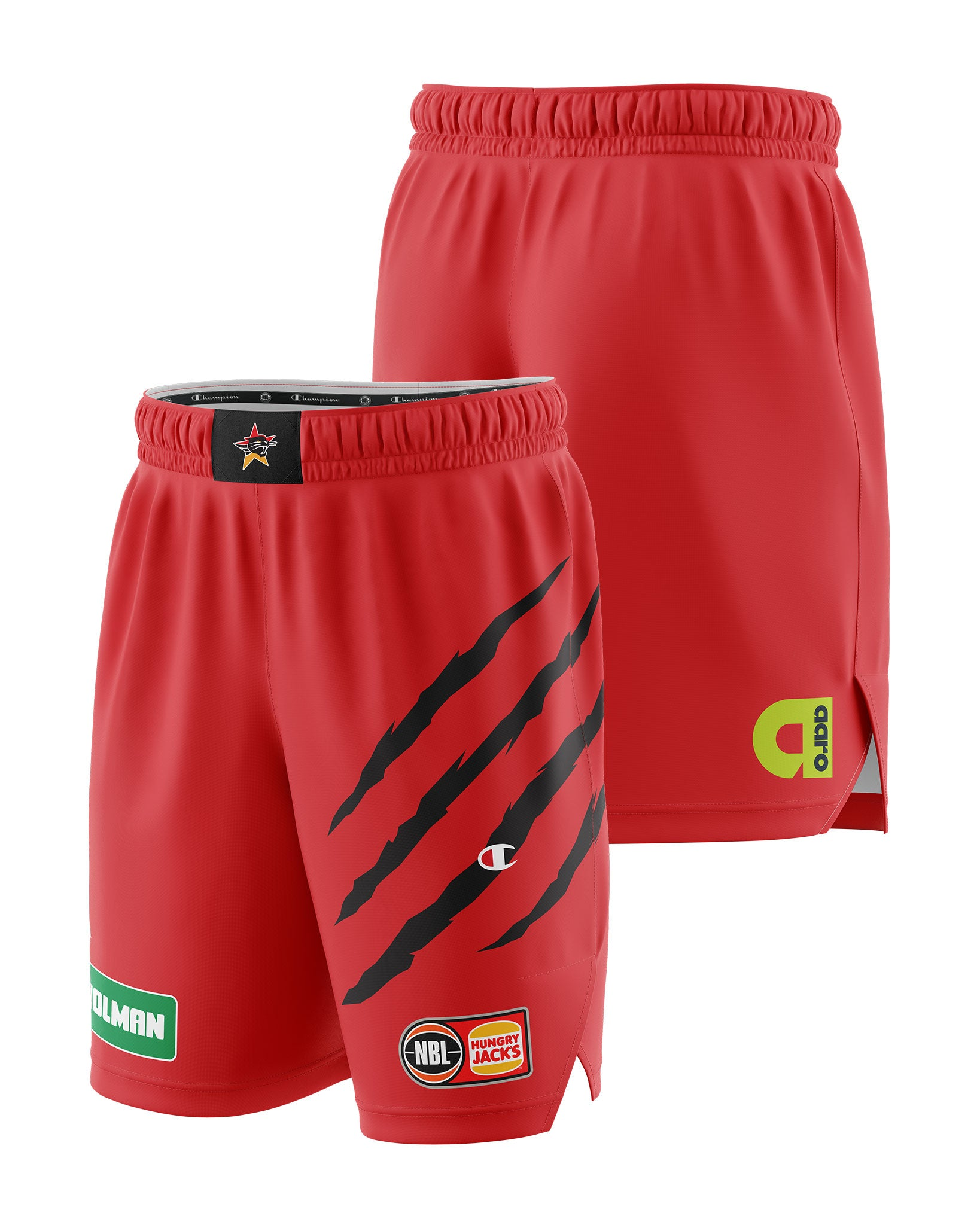 Perth Wildcats 20/21 Authentic Home Shorts