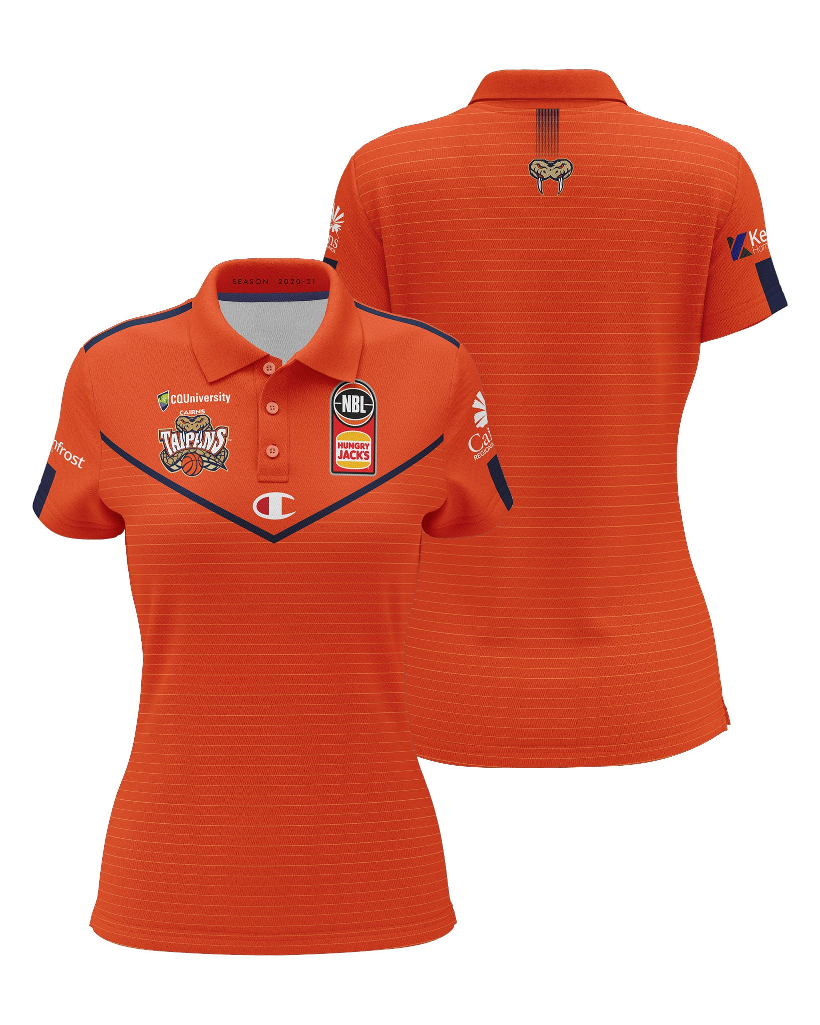Cairns Taipans 20/21 Womens Sublimated Polo