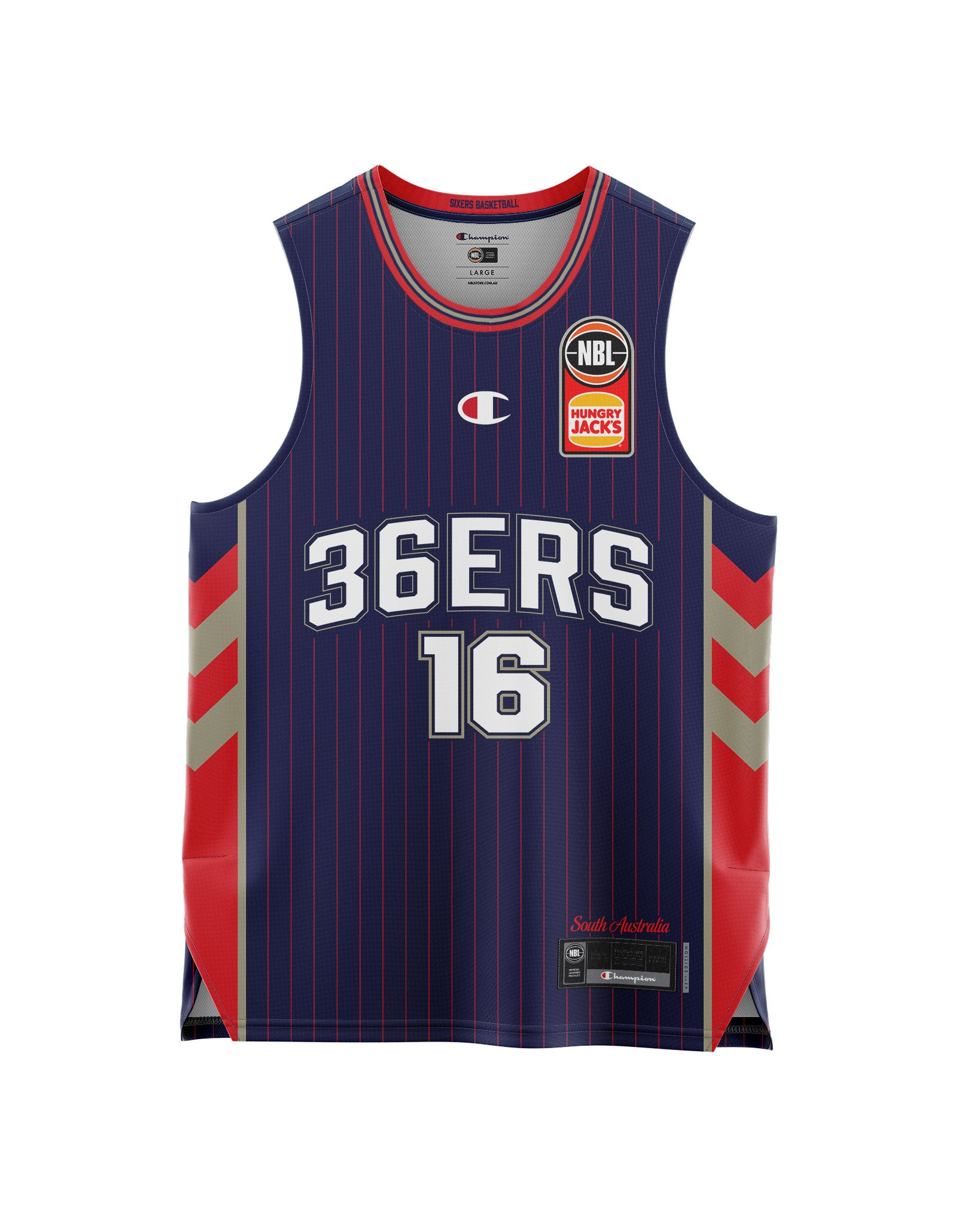 Adelaide 36ers 20/21 Youth Authentic Home Jersey - Donald Sloan