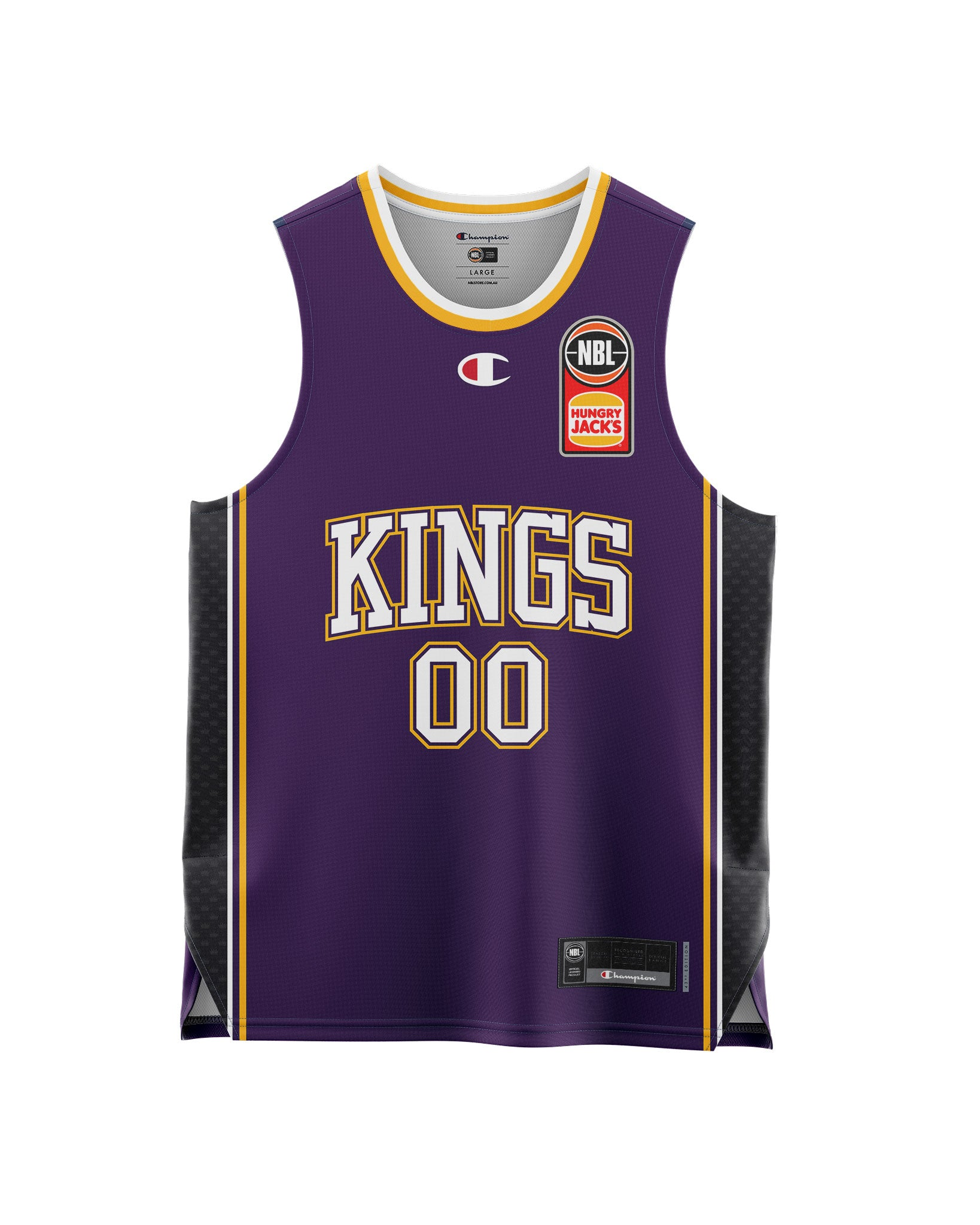 Sydney Kings 20/21 Youth Authentic Home Jersey - Personalised