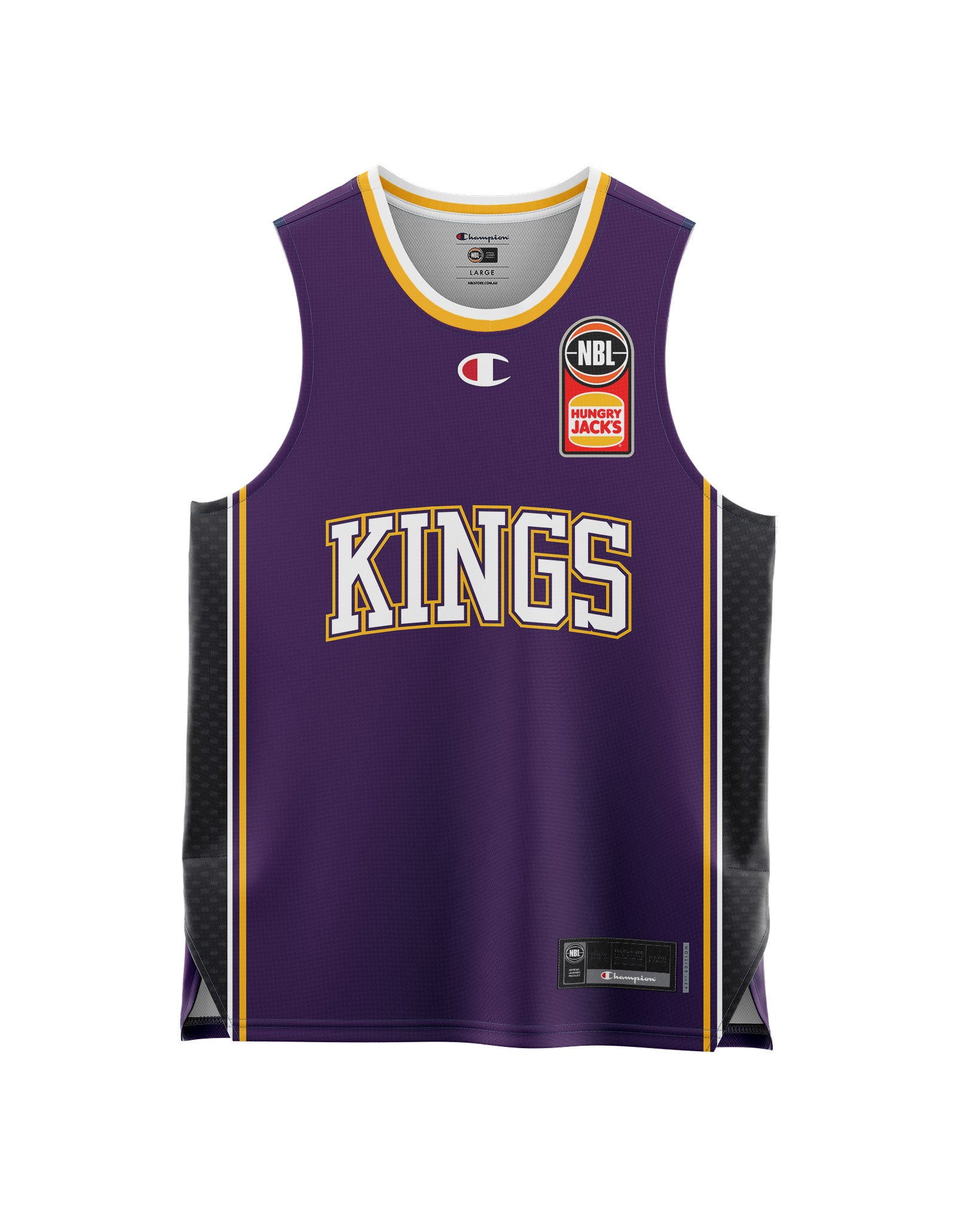 Sydney Kings 20/21 Youth Authentic Home Jersey