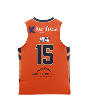 Cairns Taipans 20/21 Youth Authentic Home Jersey - Nate Jawai