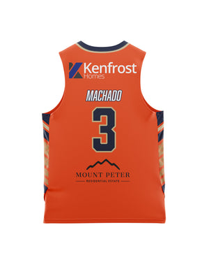 Cairns Taipans 20/21 Youth Authentic Home Jersey - Scott Machado