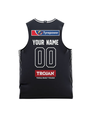 Melbourne United 20/21 Youth Authentic Home Jersey - Personalised