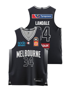 Melbourne United 20/21 Youth Authentic Home Jersey - Jock Landale