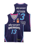 New Zealand Breakers 20/21 Youth Authentic Home Jersey - Lamar Patterson