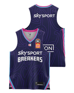 New Zealand Breakers 20/21 Youth Authentic Home Jersey