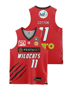 Perth Wildcats 20/21 Youth Authentic Home Jersey - Bryce Cotton
