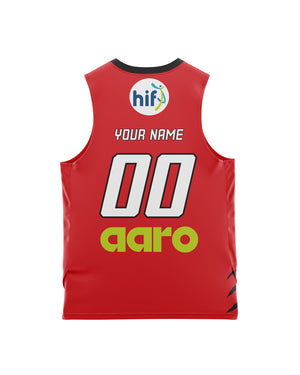 Perth Wildcats 20/21 Youth Authentic Home Jersey - Personalised