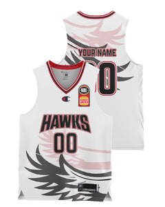 Illawarra Hawks 20/21 Youth Authentic Away Jersey - Personalised