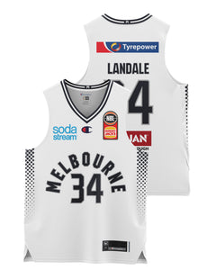 Melbourne United 20/21 Youth Authentic Away Jersey - Jock Landale
