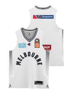 Melbourne United 20/21 Youth Authentic Away Jersey