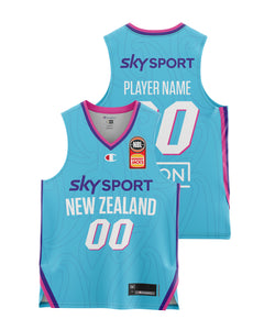 New Zealand Breakers 20/21 Youth Authentic Away Jersey - Other Players