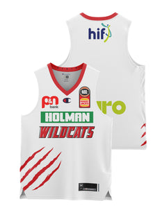 Perth Wildcats 20/21 Youth Authentic Away Jersey