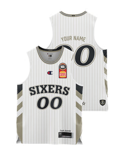 Adelaide 36ers 20/21 Youth Authentic Away Jersey - Personalised