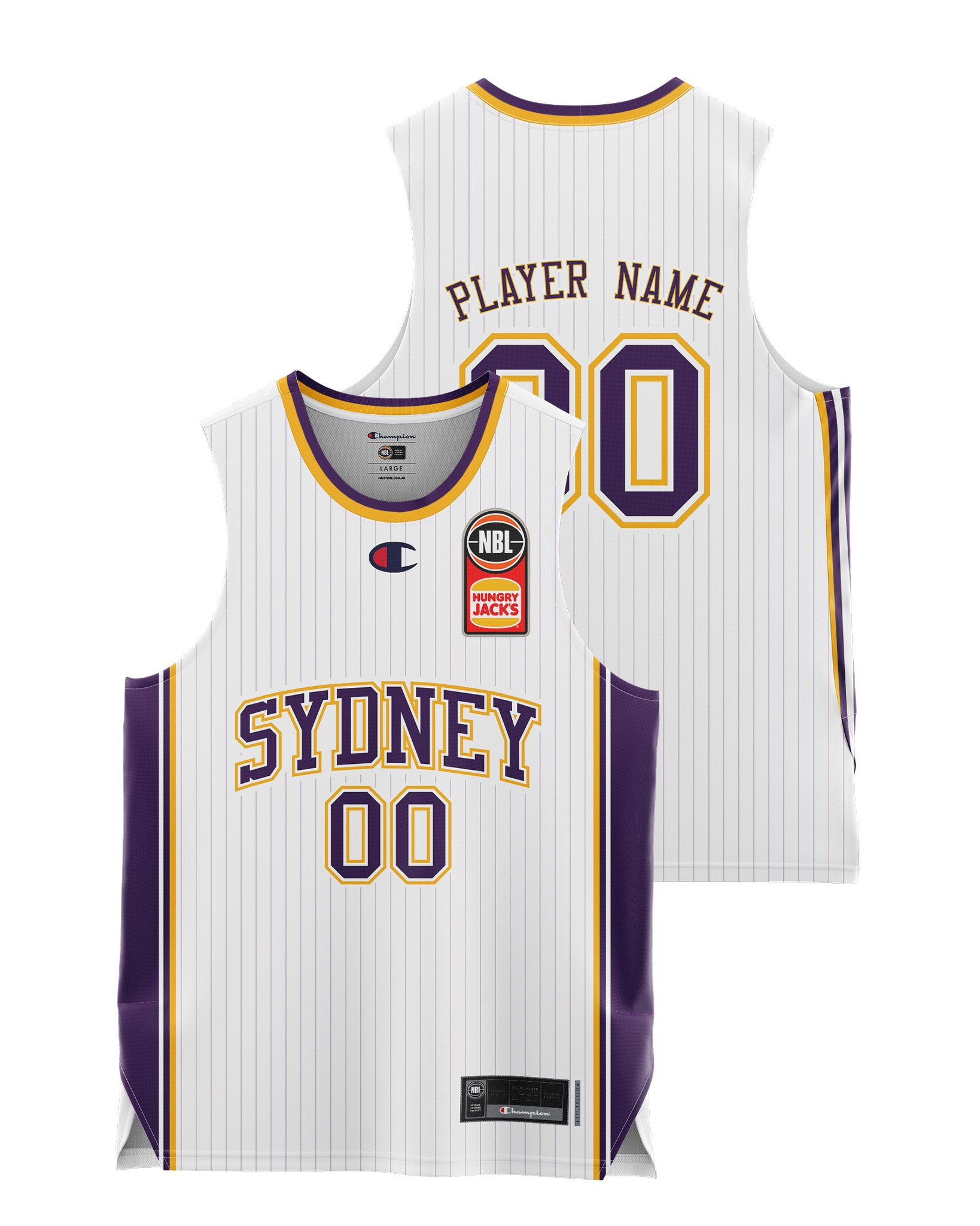 Sydney Kings 20/21 Youth Authentic Away Jersey - Other Players