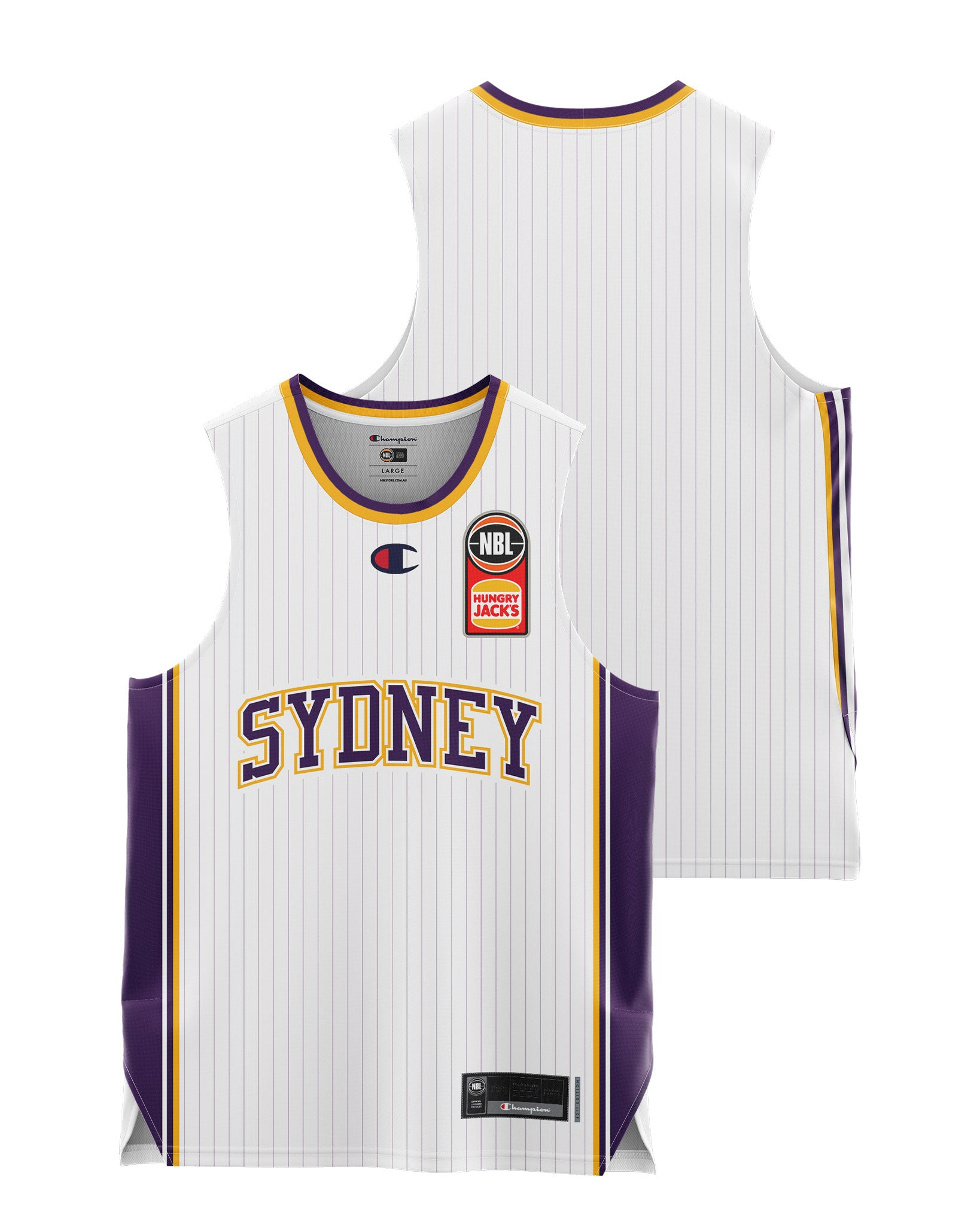 Sydney Kings 20/21 Youth Authentic Away Jersey