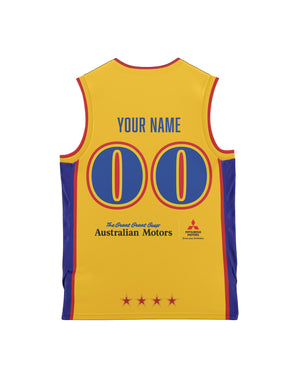 Adelaide 36ers 20/21 Youth Authentic Heritage Jersey - Personalised