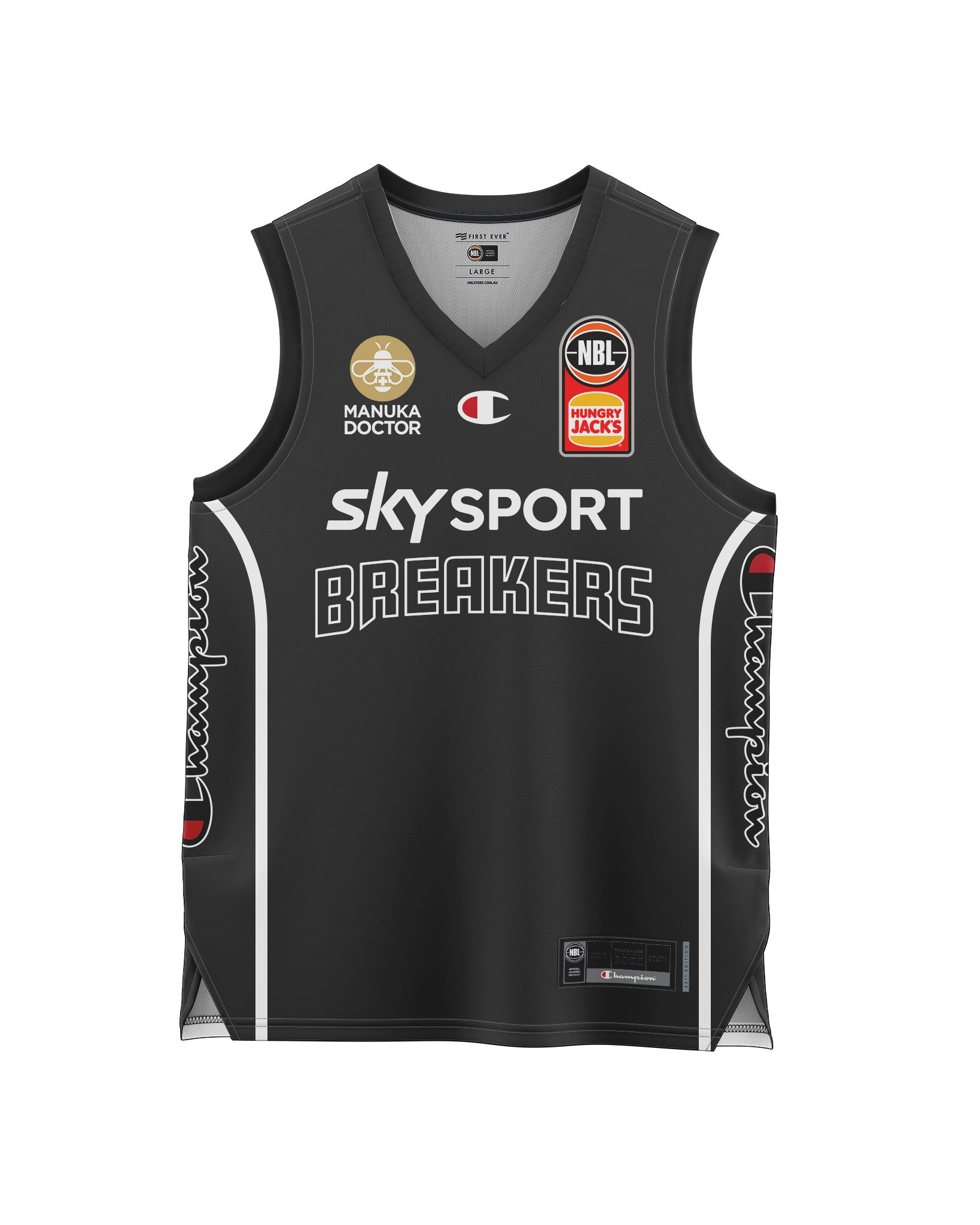 New Zealand Breakers 20/21 Youth Authentic Heritage Jersey