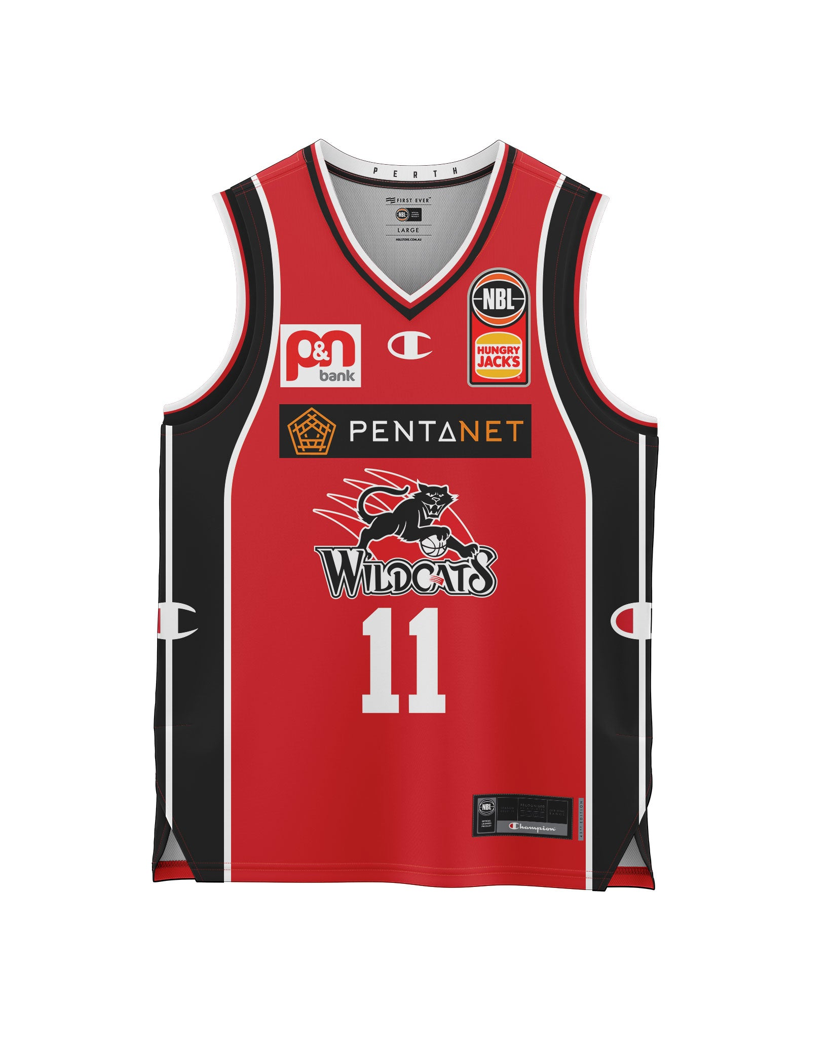 Perth Wildcats 20/21 Youth Authentic Heritage Jersey - Bryce Cotton