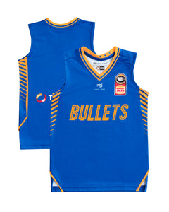 Brisbane Bullets 19/20 Infant Authentic Home Jersey