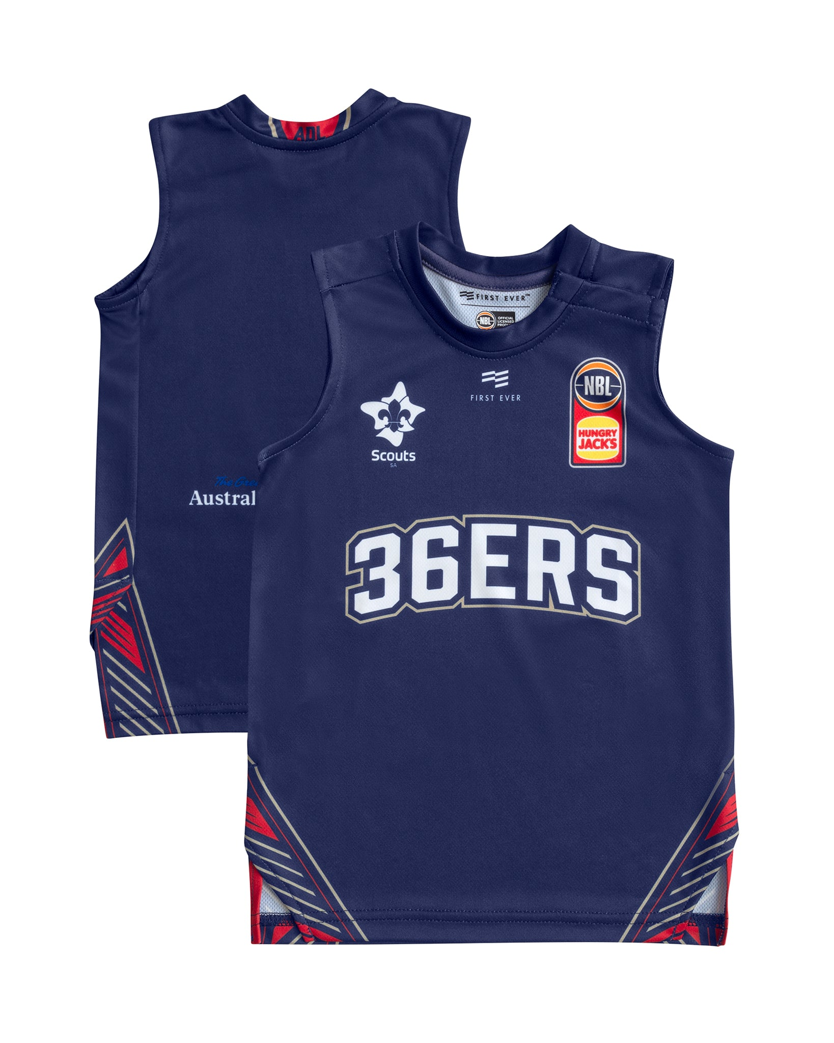 Adelaide 36ers 19/20 Infant Authentic Home Jersey