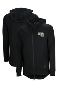 brisbane-bullets-performance-zip-hoodie - Front and Back Image