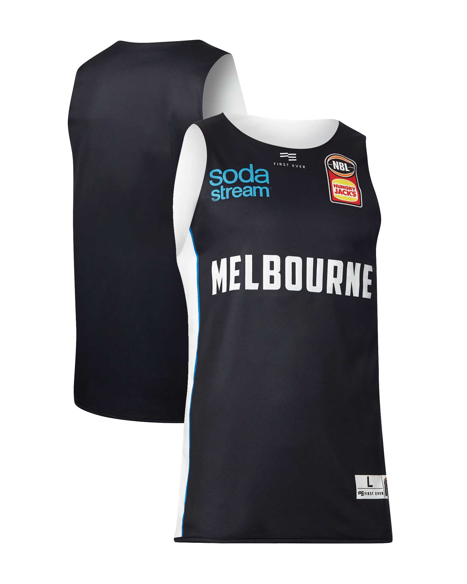 Melbourne United 19/20 Official NBL Reversible Training Jersey