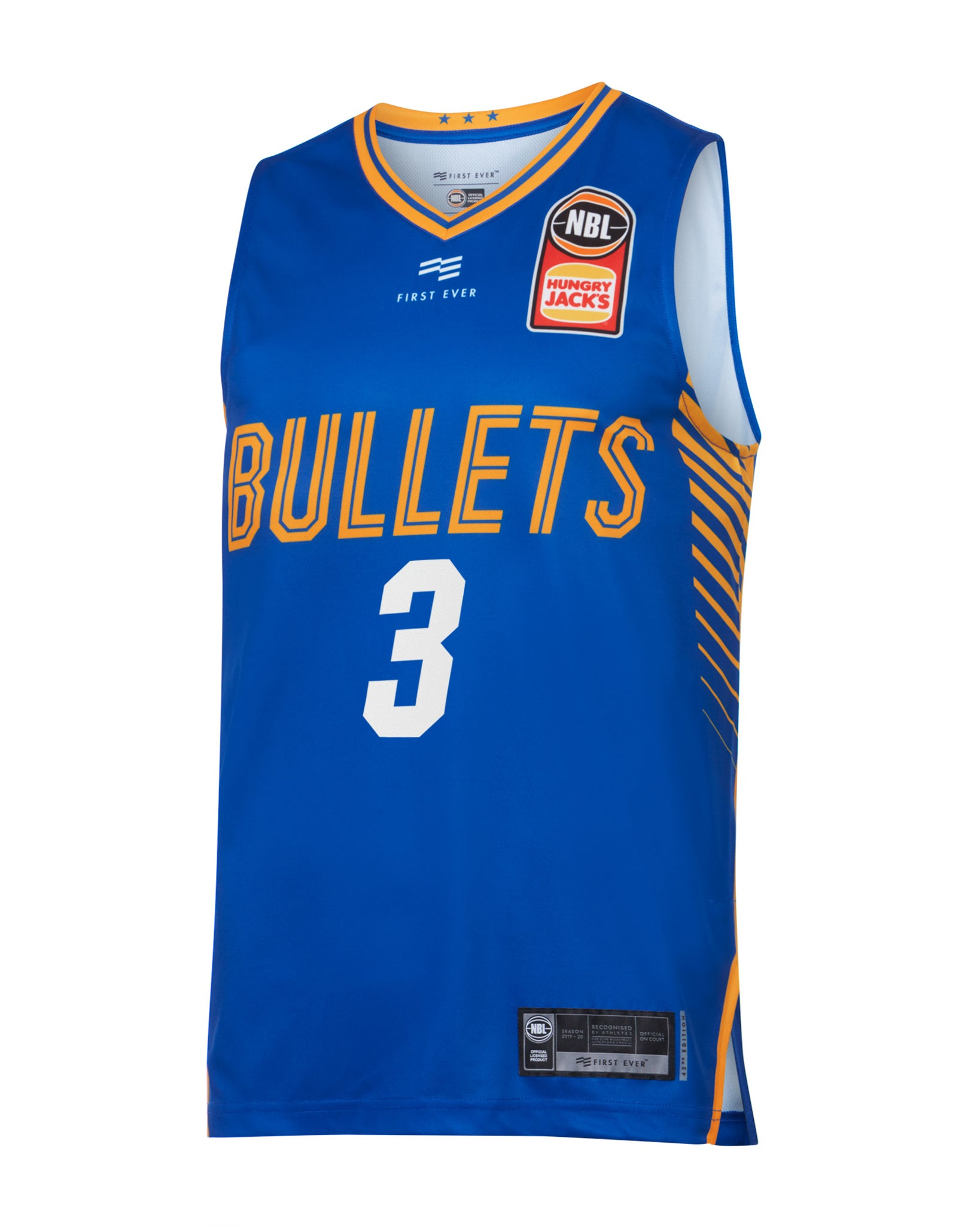 brisbane-bullets-19-20-authentic-home-jersey-cam-gliddon - Front Image