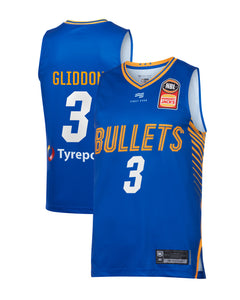 brisbane-bullets-19-20-authentic-home-jersey-cam-gliddon - Front and Back Image