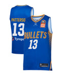 Brisbane Bullets 19/20 Authentic Home Jersey - Lamar Patterson